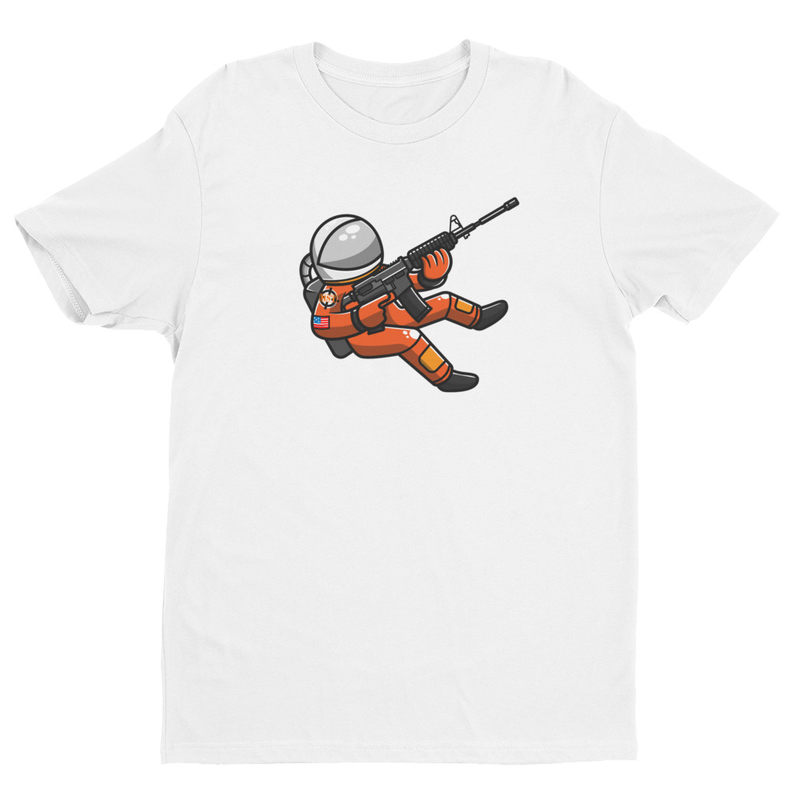 Space Force Astronaut Short Sleeve T-shirt