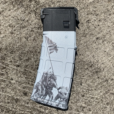 PMAG 30-Round AR/M4 - Raising the Flag