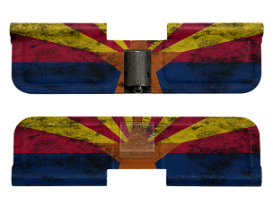 AR-15 Ejection Port Dust Cover - Distressed Arizona