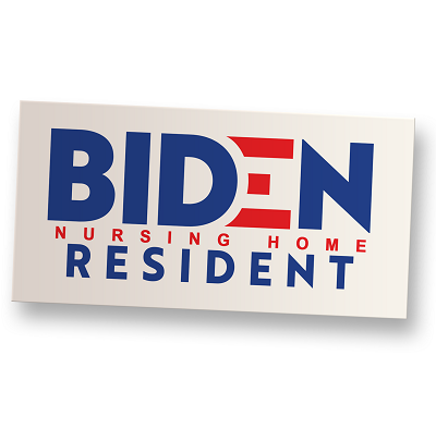 Nursing Home Resident Vinyl Sticker