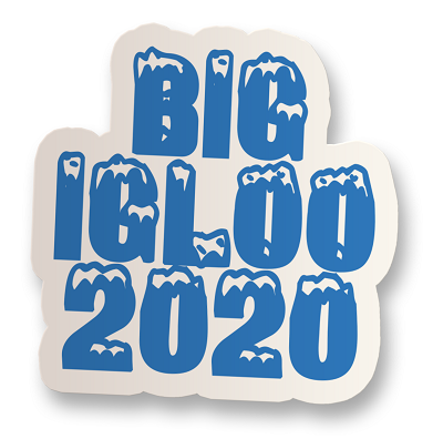 Big Igloo 2020 Vinyl Sticker