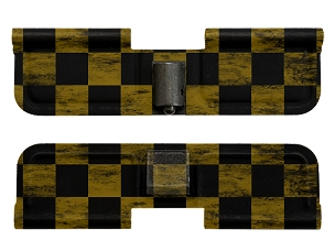 AR-15 Ejection Port Dust Cover - Checkered