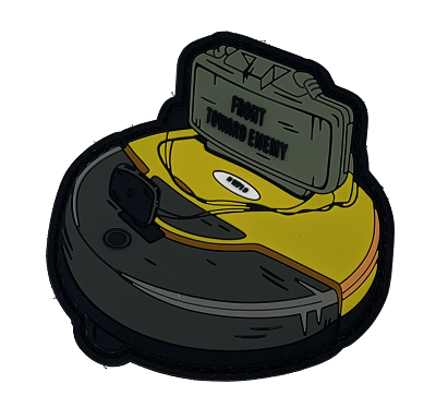 Claymore Roomba PVC Patch
