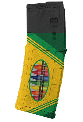 PMAG 30-Round AR/M4- Crayons