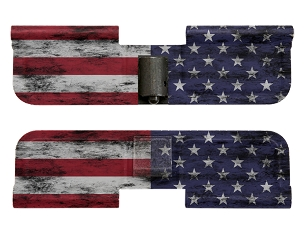 AR-15 Ejection Port Dust Cover - Distressed American