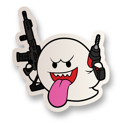 Ghost Gunner Vinyl Sticker