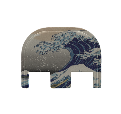 Custom Glock Back- Great Wave
