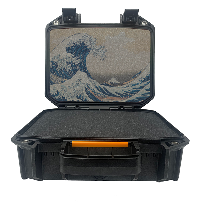 Great Wave - Pelican V100 Pistol Case