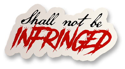 Infringed Vinyl Sticker
