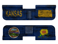 AR-15 Ejection Port Dust Cover - Kansas