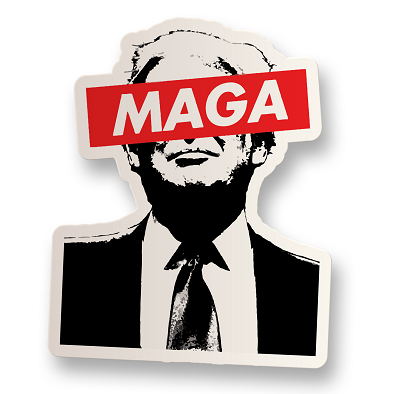 MAGA Vinyl Sticker
