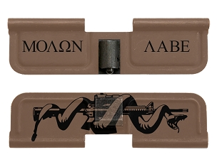 AR-15 Ejection Port Dust Cover - Molon Labe