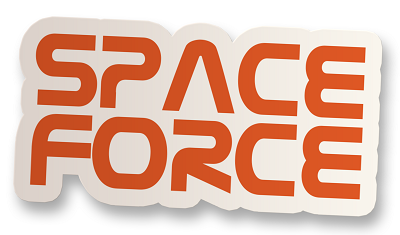 Space Force Vinyl Sticker