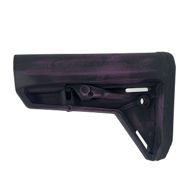 Magpul MOE SL Carbine Stock - Worn Wild Purple