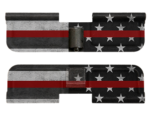 AR-15 Ejection Port Dust Cover -Thin Red Line