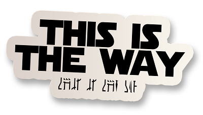 The Way Vinyl Sticker