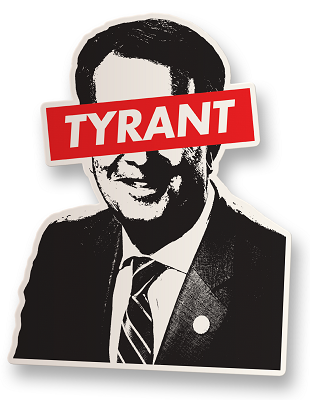 Virginia Tyrant Vinyl Sticker