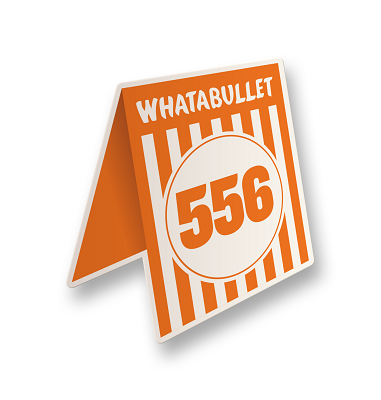 Whatabullet Vinyl Sticker