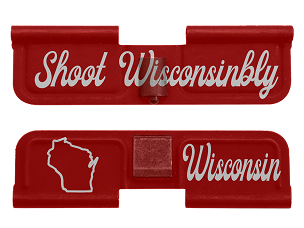 AR-15 Ejection Port Dust Cover - Wisconsin