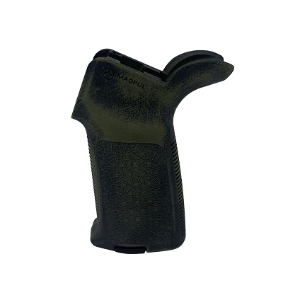 Magpul MOE Grip - Worn Bazooka Green