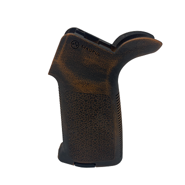 Magpul MOE Grip - Worn Tequila Sunrise