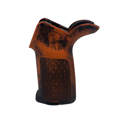 Magpul MOE Grip - Worn Hunter Orange