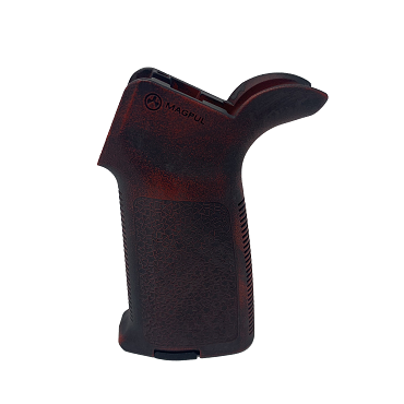 Magpul MOE Grip - Worn Smith and Wessen Red