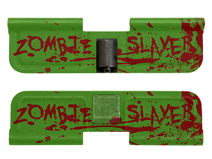 AR-15 Ejection Port Dust Cover - Zombie Slayer