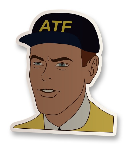 ATF Agent Vinyl Sticker
