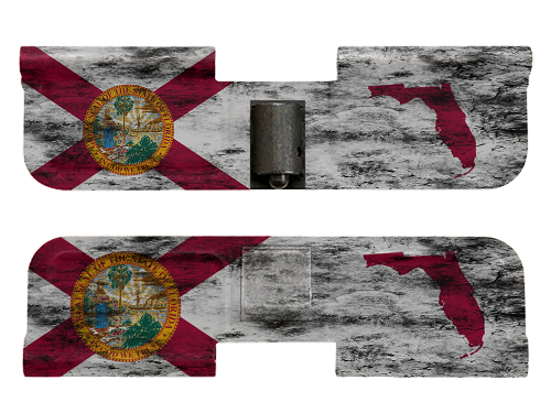 AR-15 Ejection Port Dust Cover - Distressed Florida