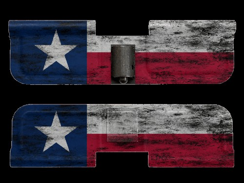 AR-15 Ejection Port Dust Cover - Distressed Texas