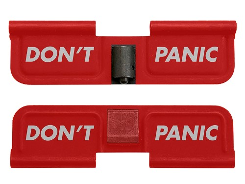 AR-15 Ejection Port Dust Cover - Don't Panic