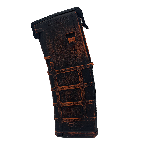 PMAG 30-Round AR/M4- Worn Cerakote Hunter Orange